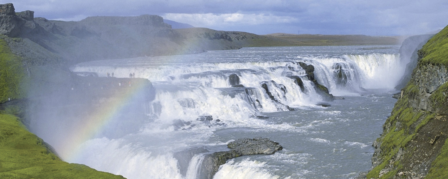 Gullfoss waterfalls