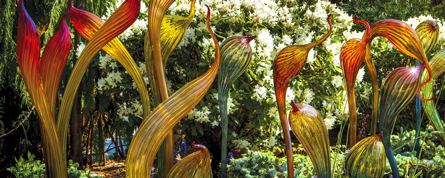 Spring Blooms Chihuly Garden and Glass