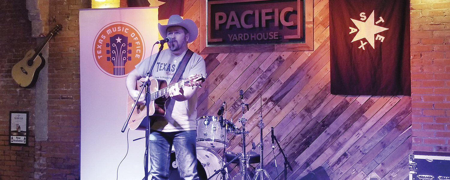 Live music at Pacific Yard House in Conroe