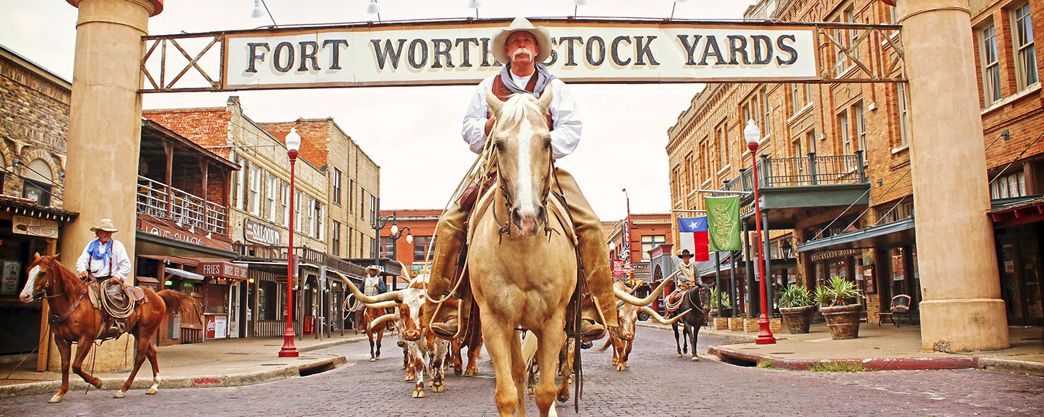 Fort Worth Stockyard Rider