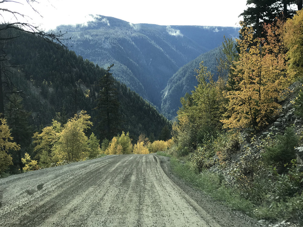 The road that leads to Bella Coola