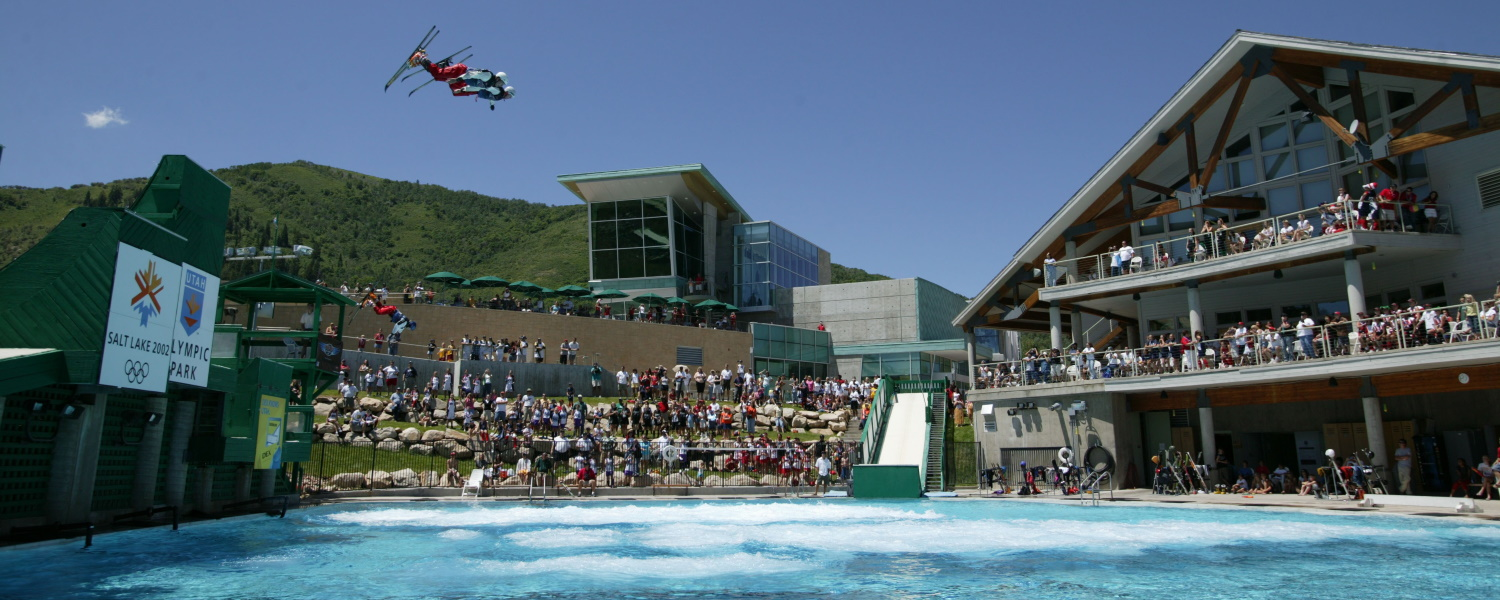 Utah Olympic Park Flying Aces All-Star show