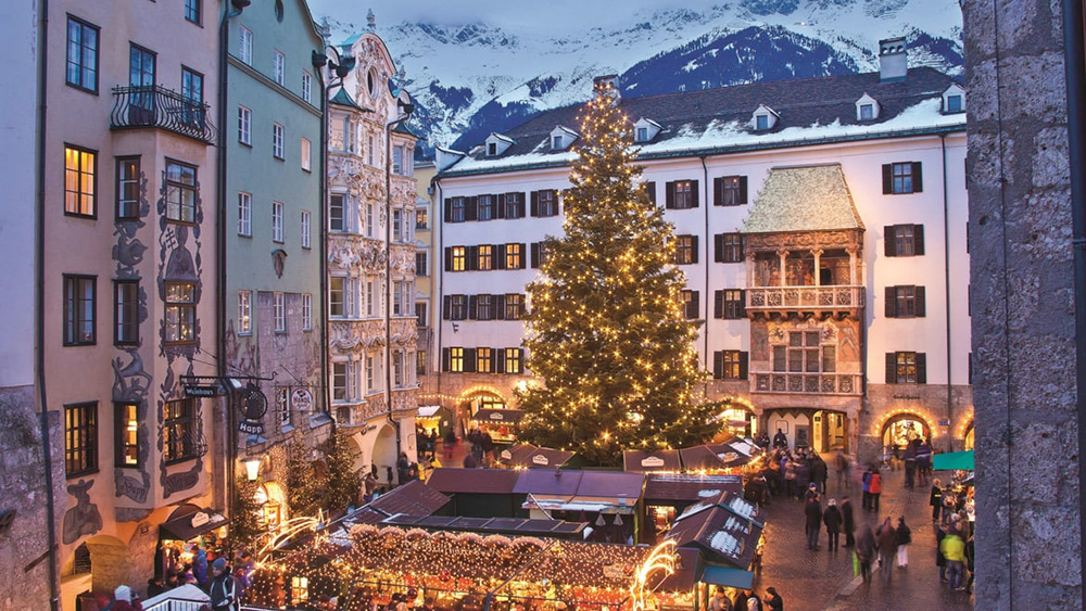 Christmas market in Austria