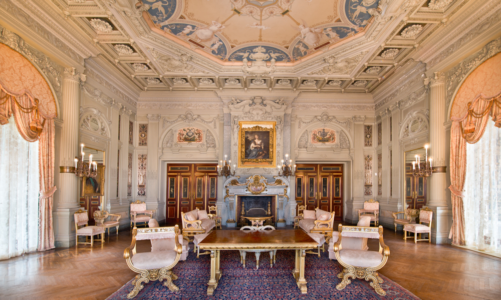 The Breakers Morning Room Newport Mansions