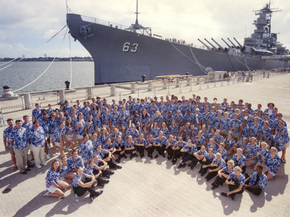 Performance groups at USS Missouri niche tours for students in hawaii
