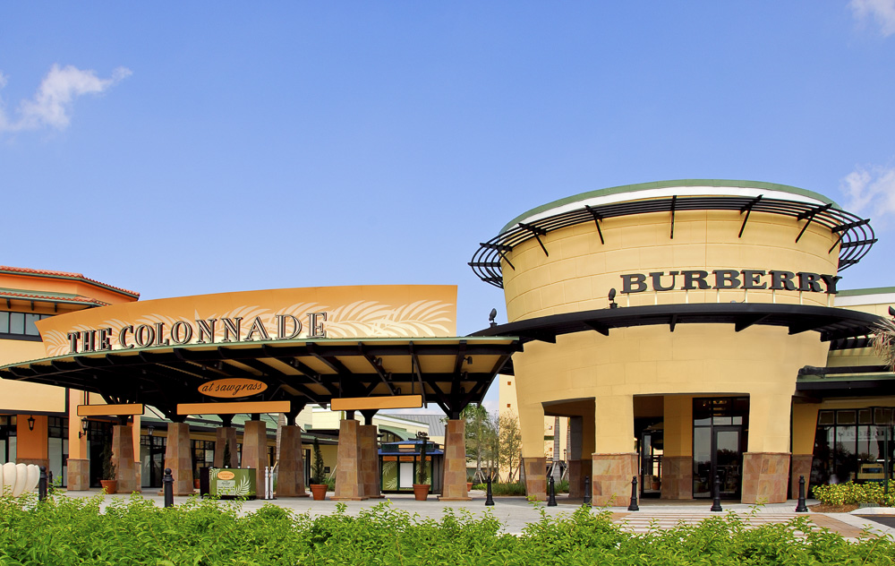 Colonnade Outlets at Sawgrass Mills Fort Lauderdale