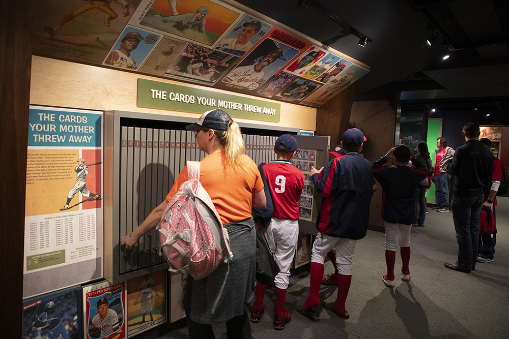 Behind The Scenes National Baseball Hall Of Fame Museum