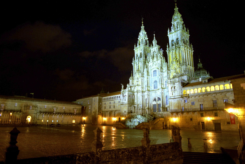 The Cathedral of Santiago de Compostela in Spain catholic travel faith