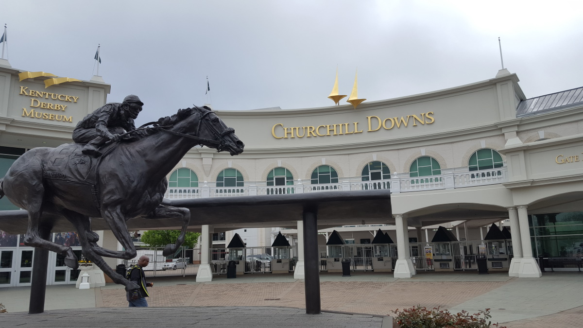 Churchill Downs and the Kentucky Derby Museum in Louisville, Kentucky