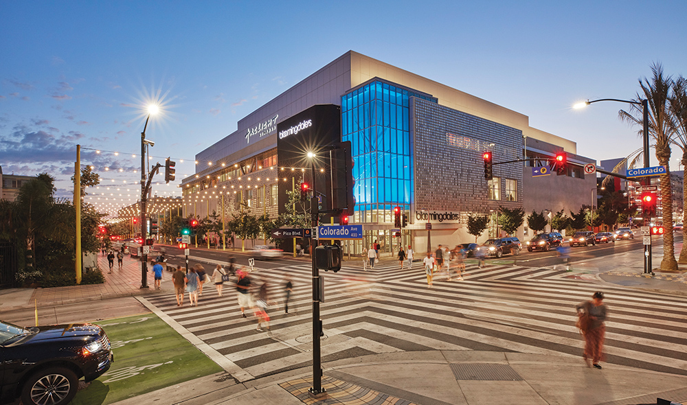 Macerich Shopping Centers in Santa Monica