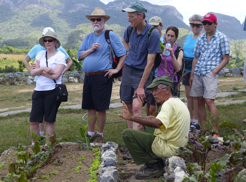 A group from CREST visits Viñales, Cuba travel tourism