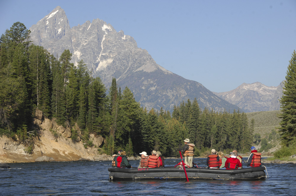 Triangle X Float Trip sightseeing cruise in Grand Teton National Park