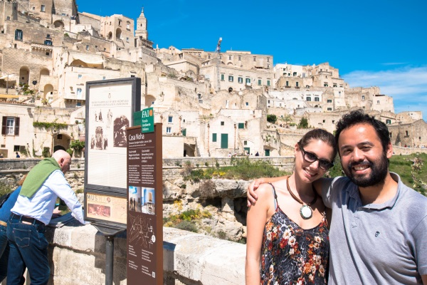 Matera Italy's Sissi historical district