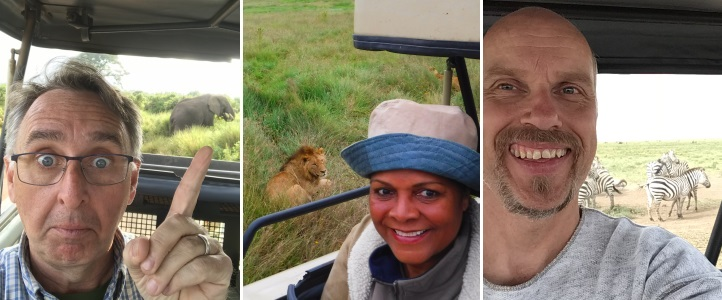 Safari selfies