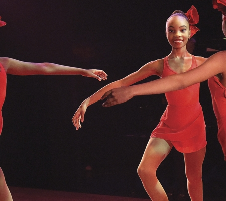 Dance performance at Harlem's Apollo Theater