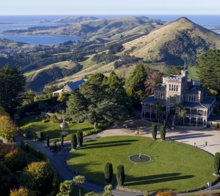 Larnach Castle garden tours new zealand