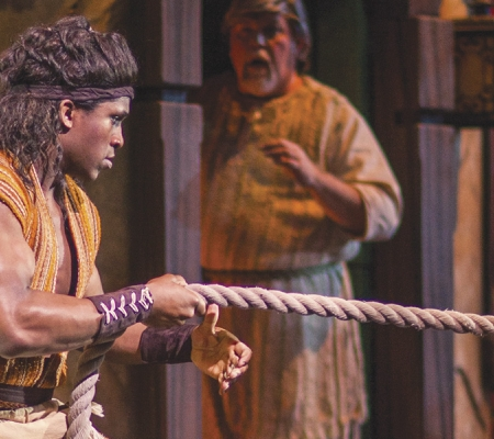"Sight & Sound Theatre's ""Samson"" in Branson"