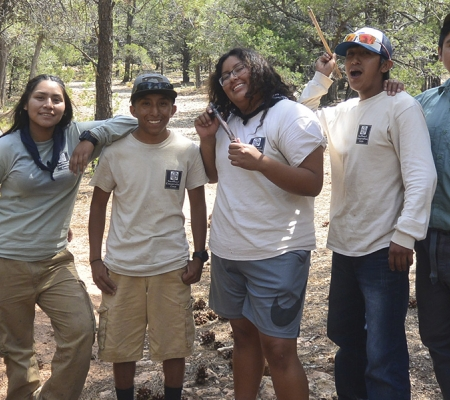 Student program from Canyon Field School