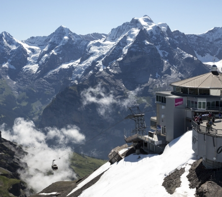 Switzerland's Schilthorn is home to two interactive James Bond exhibits.