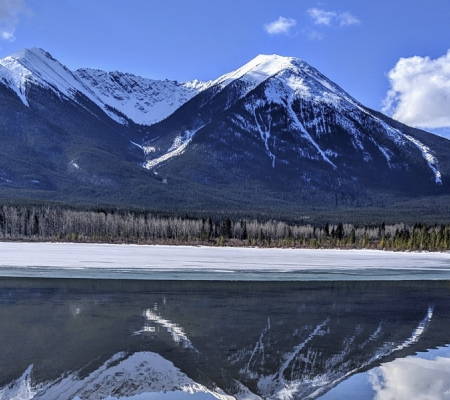 Vermillion Lakes at Banff Lake Louise