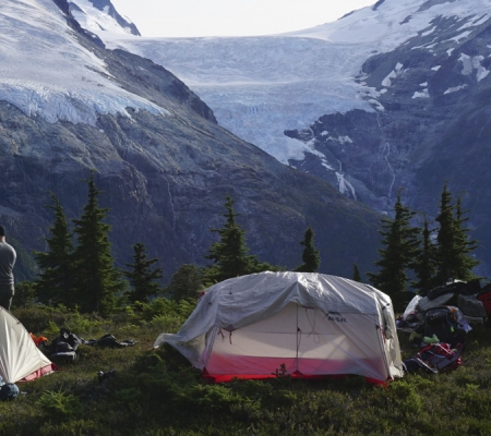 Camping in British Columbia
