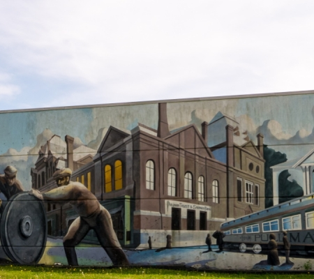 Pullman National Monument Mural