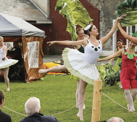 Farm to Ballet event Brattleboro, Vermont