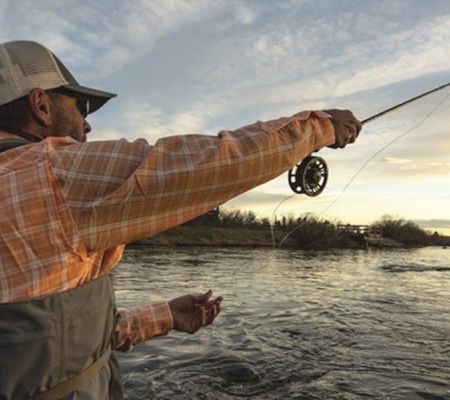 Fishing in Yellowstone-Teton territory