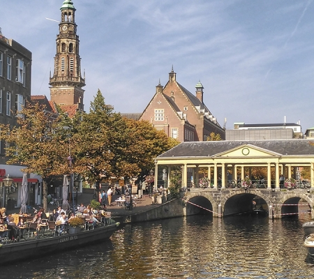 Leiden's Market Bridge
