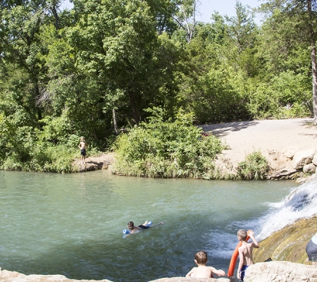 Chickasaw National Recreation Area in Sulphur