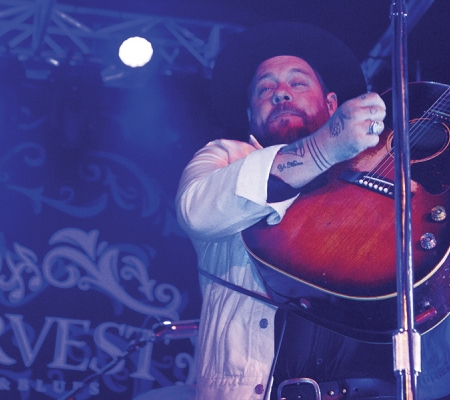Nathaniel Rateliff at the 2019 Harvest Jazz & Blues Festival