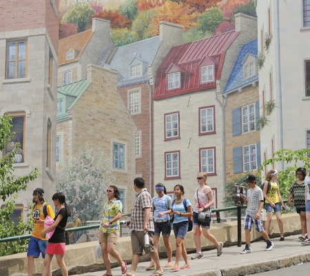 Walking tour of Old Québec