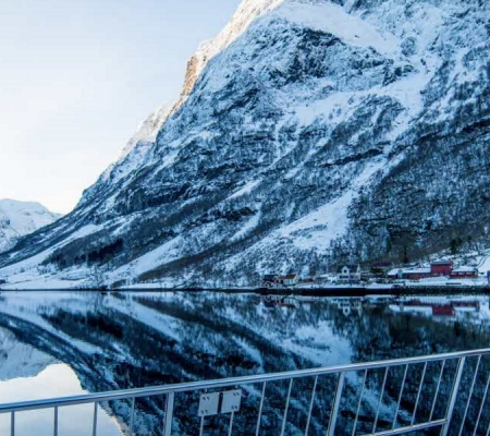 Future of the Fjords all-electric vessel that goes through the Norwegian fjords