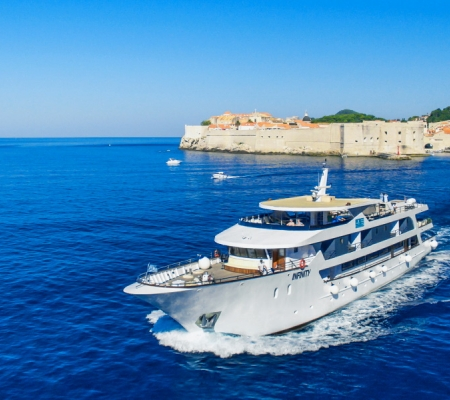 Katarina Line offers cruises along Croatia's coast